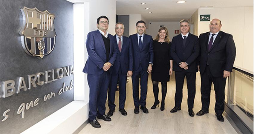 Conveni amb el FC Barcelona per promoure la ciutat de Barcelona