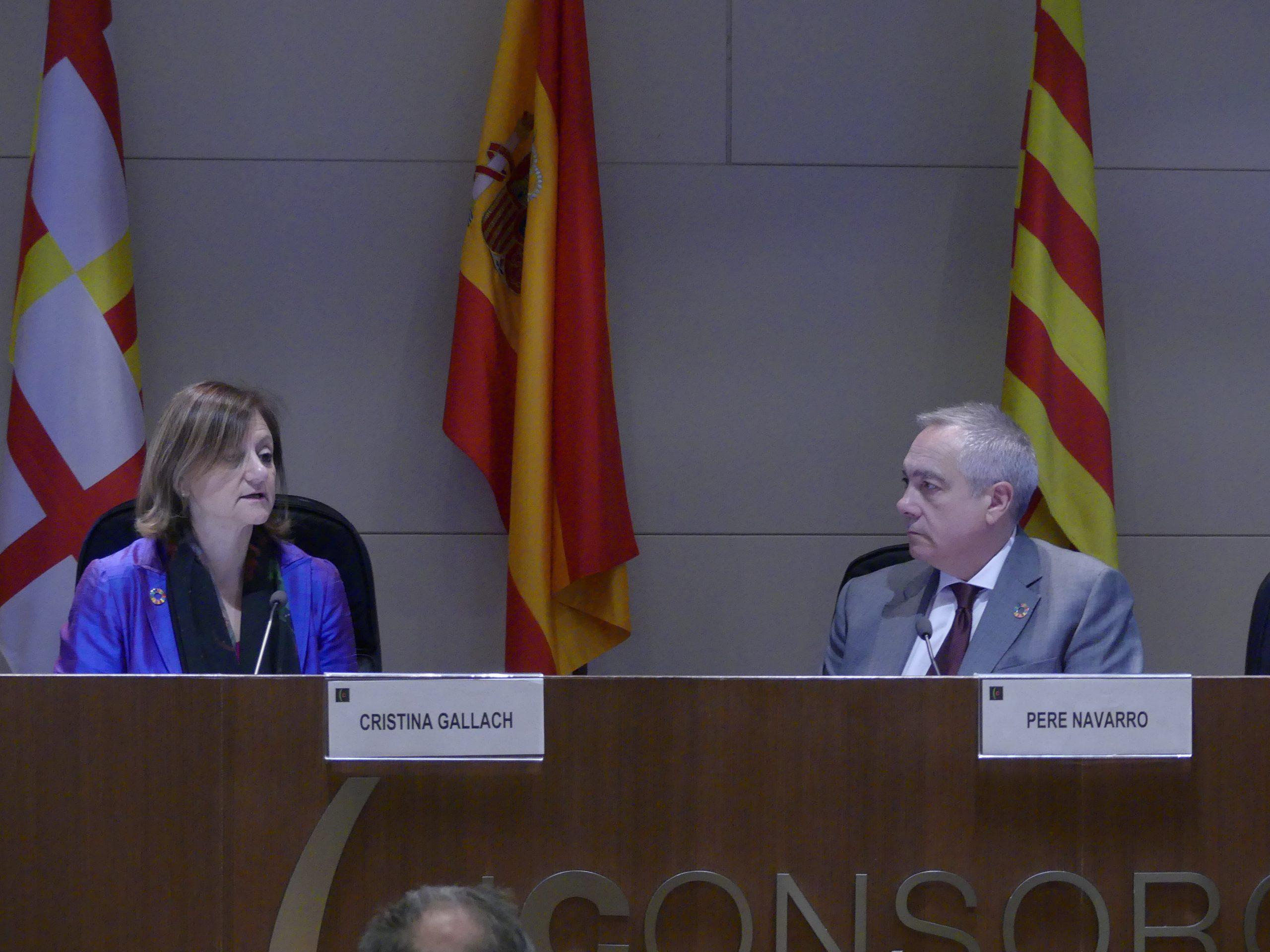 Conferència de Cristina Gallach sobre els Objectius de Desenvolupament Sostenible al Polígon de la Zona Franca