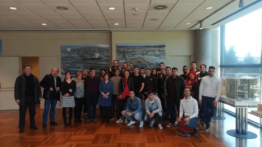 Es comparteix el projecte ECOCIRCULAR ZF amb estudiants ERASMUS gràcies a la col·laboració d'ESADE