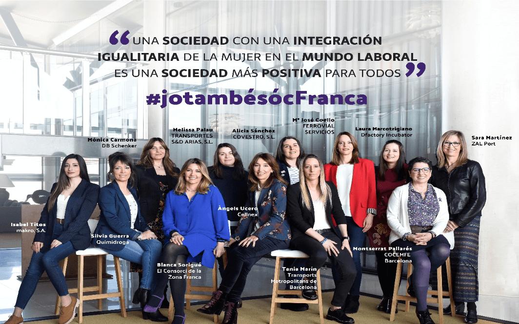 La Zona Franca llança la campanya #jotambésocfranca a favor de la igualtat de gènere