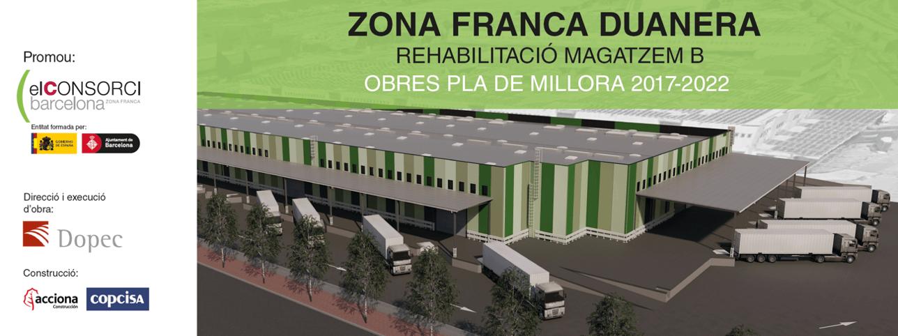 Rehabilitació integral del magatzem B de la Zona Franca Duanera