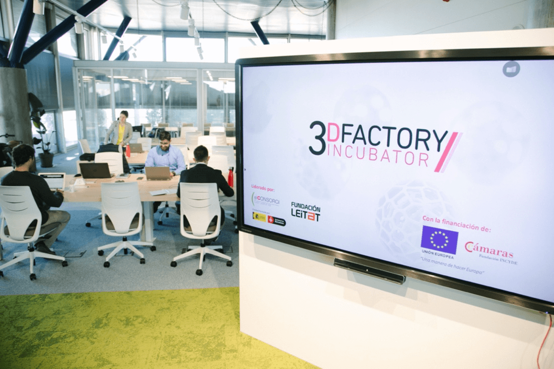 Balanç d'èxit del 3DFactory: ocupació plena i 5.000 peces impreses en 100 dies