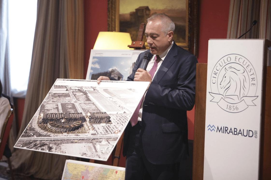 «El Consorci, fàbrica d'oportunitats», conferència de Pere Navarro al Círculo Ecuestre de Barcelona