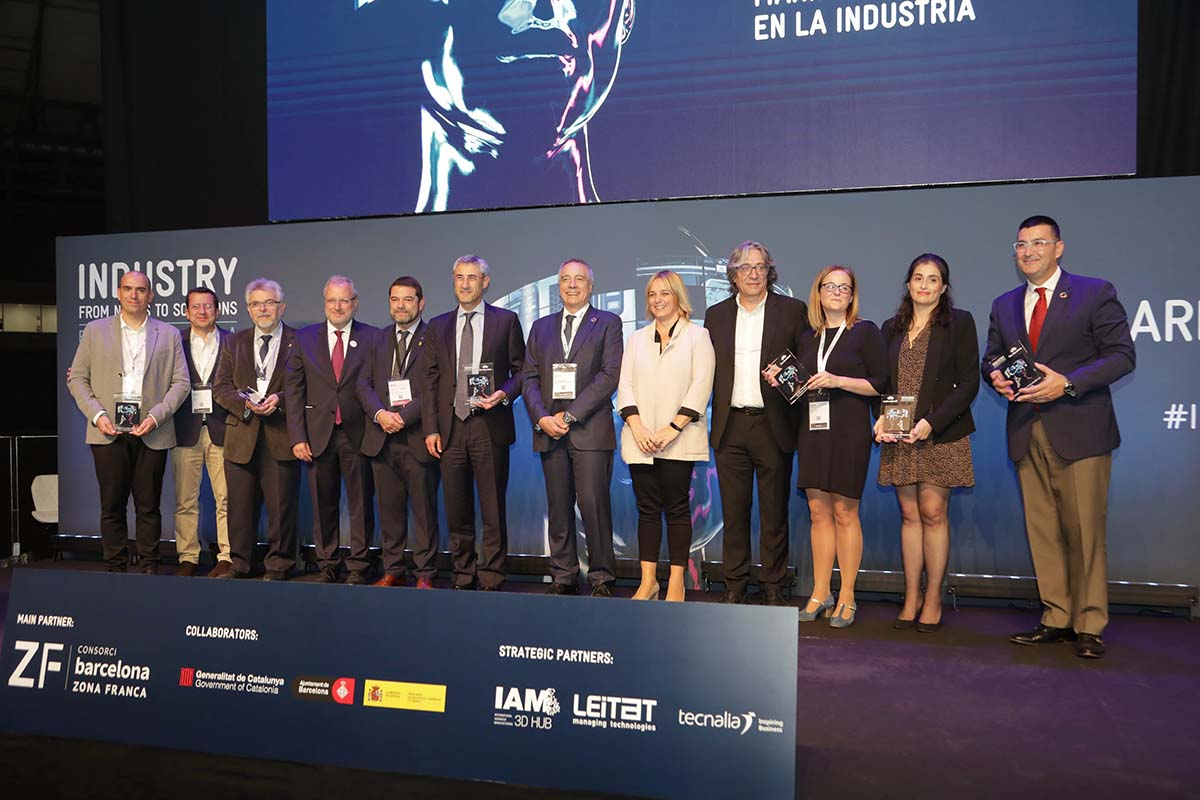 La Barcelona Industry Week va premiar el 3DFactory Incubator del Consorci