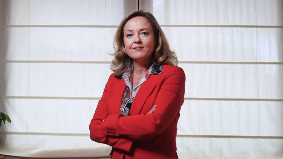 La ministra d'Economia, Nadia Calviño, visita la nostra entitat