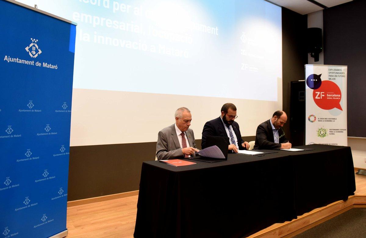 Mataró i la Zona Franca, aliança pel benefici econòmic i empresarial