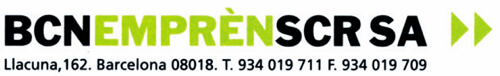 Logo BARCELONA EMPRÈN, SCR
